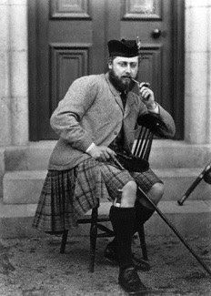 The future King Edward as Prince Edward smoking a pipe c. 1868.