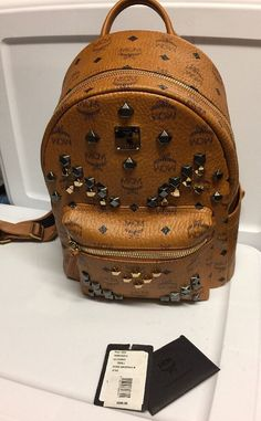 Vintage MCM Backpack Never Worn Medium Stark M by ClassicStyles7
