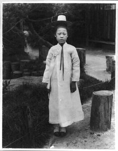 Korea in the Imperial Era and Japanese Occupation: Korean Boy, Engaged to be Married