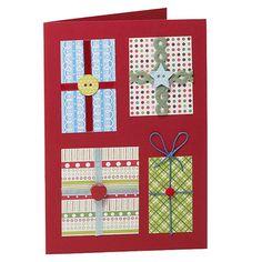 Manualidades navideñas: tarjetas hechas con botones > Decoracion Infantil y Juvenil, Bebes y Niños