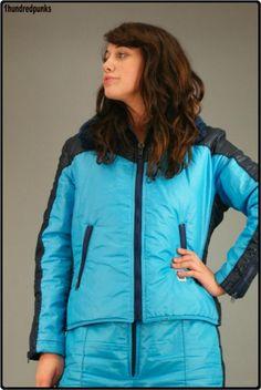 Nylons, Down Suit, Winter Suit, Vintage Ski, Puffy Jacket, Skiing, Overalls, Rain Jacket, Windbreaker