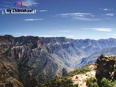 La hermosura de Barrancas del Cobre. TURISMO EN BARRANCAS DEL COBRE. Las Barrancas del Cobre ocupan el sexto lugar entre las maravillas del mundo. En su próximo viaje a Chihuahua, no dude en visitar estas imponentes y hermosas barrancas. #turismoenchihuahua