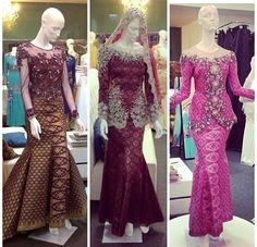songket dress style