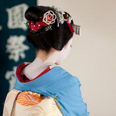 #geisha#hair