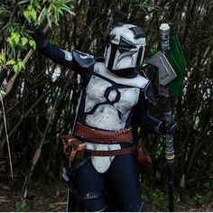 @thepandalorian out and about  checking out the scenery by: force_girls Star Wars Girls, Samurai, Scenery, Instagram Posts, Landscape, Paisajes, Nature, Samurai Warrior