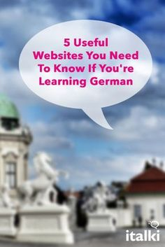 5 Useful Websites You Need To Know If You're Learning German - My philosophy is that learning German should be fun and interesting. When you turn it into a satisfying and enjoyable experience, you will learn much faster and keep your motivation high. This is crucial for your long-term success. But how can you create an effective and entertaining learning environment? The secret is in the tools and materials you use. #article #german