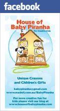 House of Baby Piranha. Great Preschool activity's .