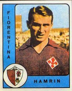 Kurt Hamrin of Fiorentina & Sweden in 1958.