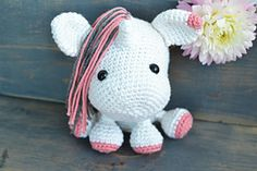 Una The Unicorn is a Crochet Pattern ONLY - Instant Download Pattern