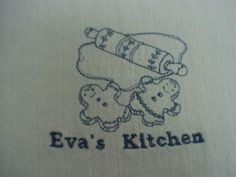 Kitchen towel for friend