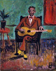 | Blues Singers - Charlie Patton by BrianForrest