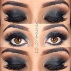 Smokey eyes Smokey Eye, Eyes, Makeup, Movie Posters, Beauty, Art, Maquillaje, Beleza, Craft Art