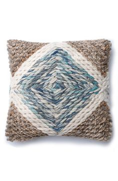 Free shipping and returns on LOLOI 'Bohemian Chic' Pillow at Nordstrom.com. A woven, mixed-media pillow adds a perfect element of earthy sophistication to any space.
