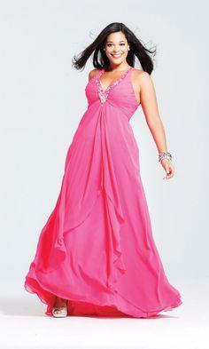 Dresses for apple shaped body