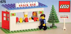 LEGO 675-1: Snack Bar | Brickset: LEGO set guide and database