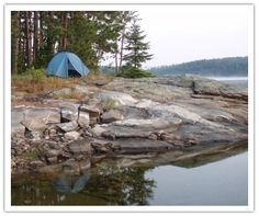 Wilderness camping in Quetico Provincial park Canoe Camping, Canoe Trip, Camping And Hiking, Camping Spots, Backpacking, Ontario Provincial Parks, Minnesota Camping, Ontario Parks, Train Tour