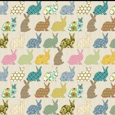 Easter Fabric from Spoonflower