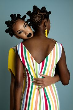 Take a look at the brand new lookbook from acclaimed Angolan fashion designer Rose Palhares, for her Spring/ Summer 2016 collection. The striking photos - shot by photographer António Medeiros - feature models Elsa Baldaia & Silvia Costa (sporting bantu knots) and perfectly showcase Palhares' signature vibrancy.