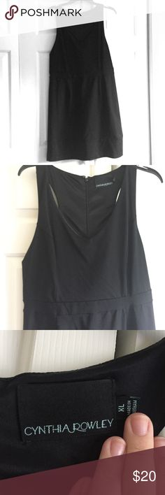EUC LBD perfect for date night or girls night out This dress has only been worn twice. excellent condition. Waist detail is flattering with a v neck. Make me an offer or add to a bundle! Cynthia Rowley Dresses Mini