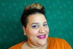 LOTW: Color-Block Lashes. Let's try a two-tone mascara look--and no, not black and brown.
