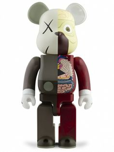 Dissected Companion Be@rbrick 400%  by: KAWS & Medicom Toy