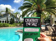 This is the best way to read Creativity For Sale. Ever. Nicely done Jimmy!