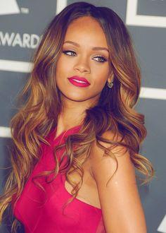 Rihanna honey hair. #VisibleChangesSalons