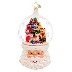 Radko Limited Edition Christmas on my Mind Ornament 2014