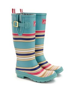 Joules WELLY PRINT Womens Welly