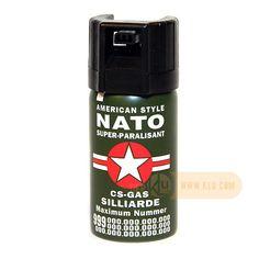 CS-Teargas NATO green 40ml