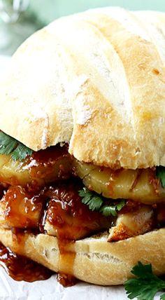 Big Kahuna Teriyaki Sandwiches