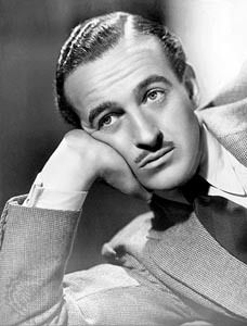 """David Niven. So debonair and he could write. We loved his tell-all memoir """"The Moon's a Balloon"""""""