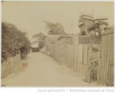 Moulin de la Galette : Montmartre - Août 1899