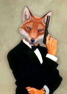 James Bond Fox