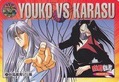 Youko Kurama vs Karasu