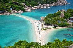 Once the haunt of sea-turtles, this small island north of Koh Samui with its quiet undisturbed beaches has become a magnet for those who really want to get away from it all and for divers who come to view the colourful coral beds. Since the main attraction is diving
