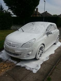 The Snowfoam has started ;)