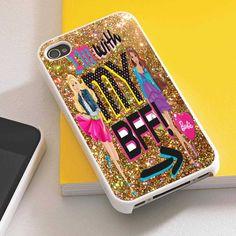 Glitter BFF Barbie case iPhone Case FBI - iPhone 4 Case, iPhone Case and iPhone 5 case Hard Plastic Case Hard Cover Ipod, Iphone 4s, Iphone Cases, Bff Cases, Phone Covers, Plastic Case, I Am Awesome, Barbie, Glitter
