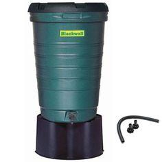 Rainsaver Water Butt Kit with Link Kit, 190 lite, Green