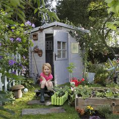 Abri de jardin en bois Courtine, 3 m², ép. 19 mm | Leroy Merlin