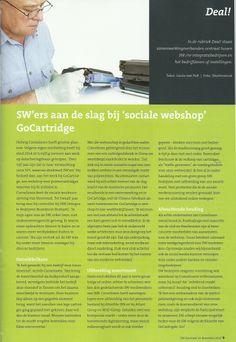 Artikel dat in het SW-Journaal stond over GoCartridge. Zeker lezen!