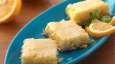 Bisquick Heart Smart® recipe! Need just a little dessert? Here's a classic lemon bar with just 8 servings.