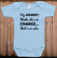 Funny baby clothes newborn baby clothes mommy by teesandmoretees, $17.99