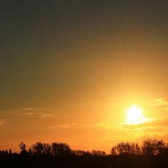 Sunset by ©Nick van Rookhuijzen