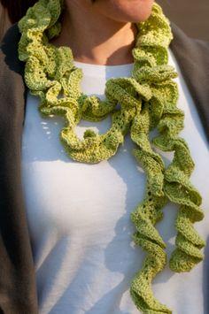 Pattern echarpe en crochet