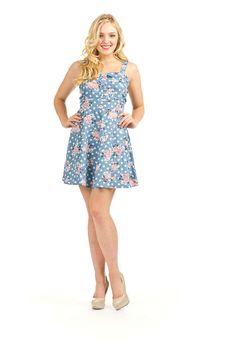 Papillon Vintage Flare Dress