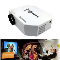 "Sourcingbay 100"" HD 150 lumens Hdmi Multimedia Portable Mini LED Projector Home Cinema Theater Av VGA USB SD Miscro USB"