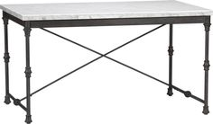 French Kitchen Table in Dining Tables | Crate and Barrel- perfect for the eat in kitchen