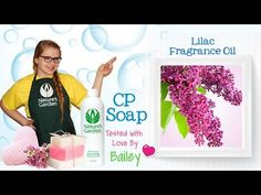 Soap Testing Lilac Fragrance Oil- Natures Garden #naturesgarden #lilacfragranceoil #soapmaking