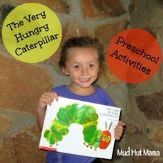 The Very Hungry Caterpillar Activities: Preschool Homeschool - Mud Hut Mama - Butterfly lifecycle & how it protects itself.